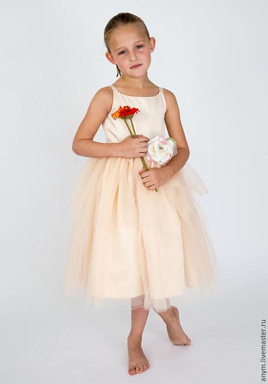 """Одежда для девочек, ручной работы. Ярмарка Мастеров - ручная работа. Купить Платье """"Алина"""". Handmade. Платье нарядное, платье для девочки"""