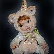 """Куклы и игрушки ручной работы. Ярмарка Мастеров - ручная работа Теддидолл """"Клепик"""". Handmade."""