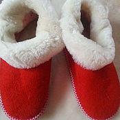 Обувь ручной работы. Ярмарка Мастеров - ручная работа Чуни подростковые из овчины. Handmade.