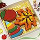 Персональные подарки ручной работы. Ярмарка Мастеров - ручная работа. Купить Набор пряников на день воспитателя. Handmade. Детский сад