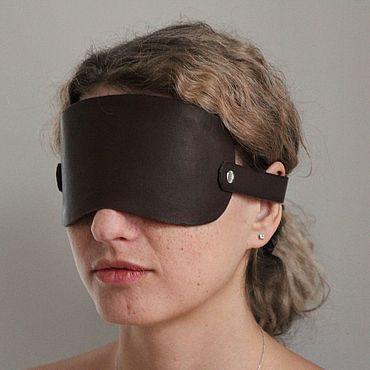 Субкультуры ручной работы. Ярмарка Мастеров - ручная работа Кожаная маска. Handmade.