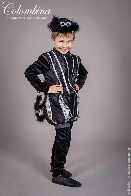 Детские карнавальные костюмы ручной работы. Ярмарка Мастеров - ручная работа. Купить Костюм паука. Handmade. Костюм паука, черный