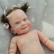 Куклы Reborn ручной работы. Ярмарка Мастеров - ручная работа Силиконовая девочка Варвара 26см супермягкая пьет-писает. Handmade.