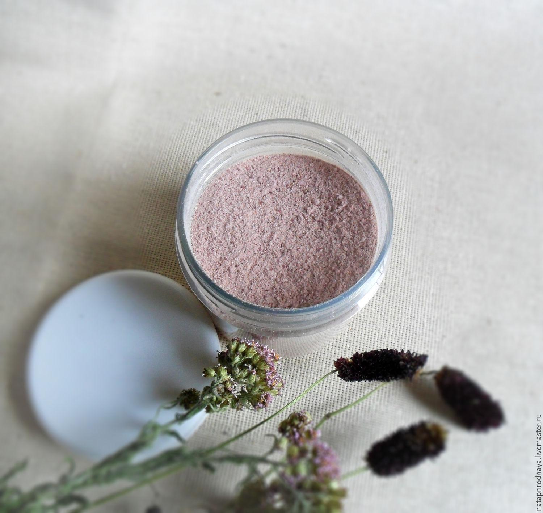 Ubtan 'rose' - for washing, cleansing, skin nutrition, Face Scrub, Chrysostom,  Фото №1