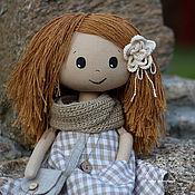 Куклы и игрушки ручной работы. Ярмарка Мастеров - ручная работа Гинтаре, текстильная кукла. Handmade.