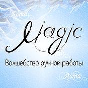 "Дизайн и реклама handmade. Livemaster - original item Corporate identity for the store knitwear ""Magic"". Handmade."