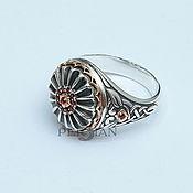 Украшения handmade. Livemaster - original item Silver ring with garnets. Handmade.