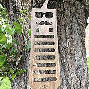 Сувениры и подарки ручной работы. Ярмарка Мастеров - ручная работа Оригинальная деревянная вешалка. Handmade.