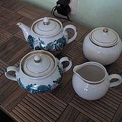Винтаж handmade. Livemaster - original item Vintage sets: Tea set. Handmade.
