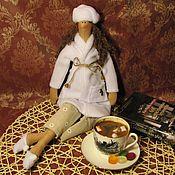 Куклы и игрушки ручной работы. Ярмарка Мастеров - ручная работа Куколка Дома хорошо :-). Handmade.