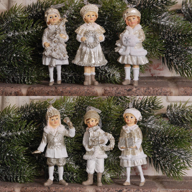 Комплект подвесных игрушек 6 шт, Аксессуары для кукол и игрушек, Москва,  Фото №1