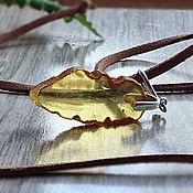 handmade. Livemaster - original item Amber. Pendant