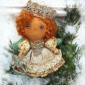 Куклы и игрушки ручной работы. Ярмарка Мастеров - ручная работа Елочная Королева. Handmade.