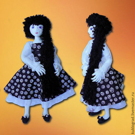 Коллекционные куклы ручной работы. Ярмарка Мастеров - ручная работа. Купить Эсмеральда. Авторская текстильная кукла.. Handmade. комбинированный