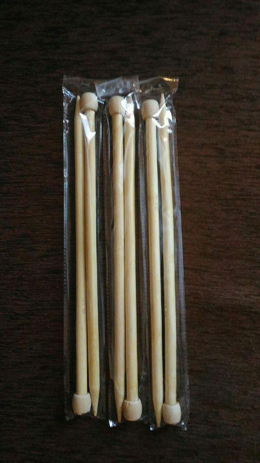 Вязание ручной работы. Ярмарка Мастеров - ручная работа. Купить Спицы бамбук из Германии. Handmade. Спицы для вязания, вязание