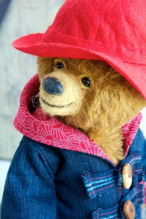 Мишки Тедди ручной работы. Ярмарка Мастеров - ручная работа. Купить Тедди медвежонок Падди. Handmade. Коричневый, подарок