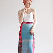 Одежда handmade. Livemaster - original item Skirt summer Vacation chiffon. Handmade.