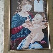 """Картины и панно ручной работы. Ярмарка Мастеров - ручная работа """"Мадонна с ребенком"""". Handmade."""