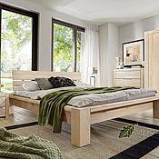 Кровати ручной работы. Ярмарка Мастеров - ручная работа Спальня Fjord из массива дуба, бейц-масло. Handmade.