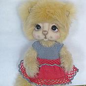 Куклы и игрушки handmade. Livemaster - original item Teddy kitty Katya.. Handmade.