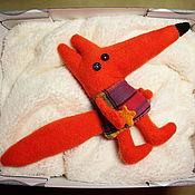 Куклы и игрушки ручной работы. Ярмарка Мастеров - ручная работа Лисёнок из Колыбельной Аргентины. Handmade.