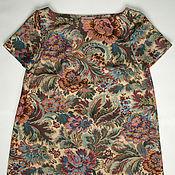 Одежда ручной работы. Ярмарка Мастеров - ручная работа Платье из неопрена в стиле 60х. Handmade.