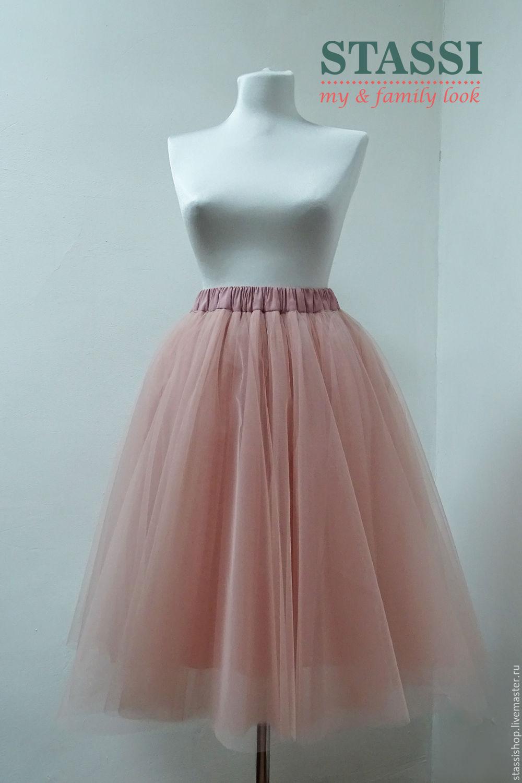Пышная юбка из фатина солнце