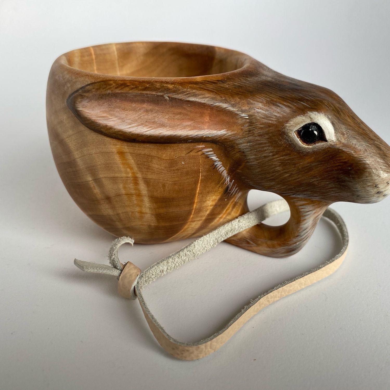 Кукса из березового капа с головой зайца, Кружки, Мурманск,  Фото №1