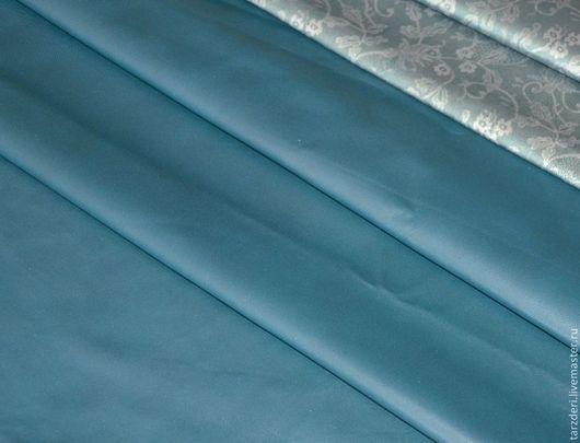Шитье ручной работы. Ярмарка Мастеров - ручная работа. Купить 11. Мягкая тонкая натуральная кожа 0,6 мм - Сине-зеленая. Handmade.