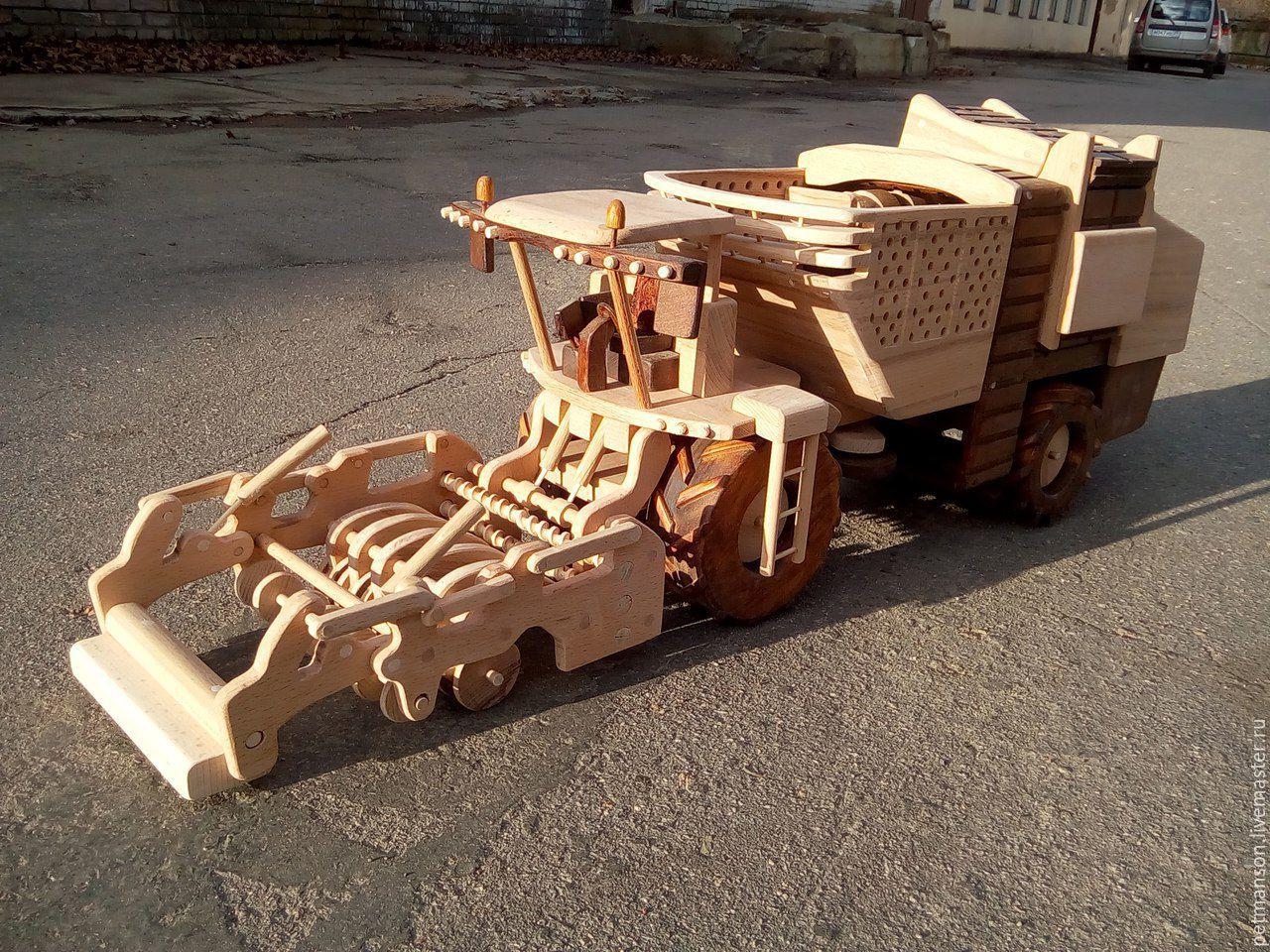 Конструктор ALATOYS КТР02 Каталка Трактор малый.