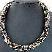 Украшения handmade. Livemaster - original item Harness-beaded necklace