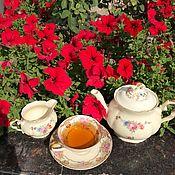 Винтаж handmade. Livemaster - original item Teapot and creamer/milkman, Bavaria, schonwald, up to 1940. Handmade.