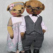 """Куклы и игрушки ручной работы. Ярмарка Мастеров - ручная работа """"Люся"""" и """"Тимоша"""". Handmade."""