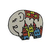 """Украшения ручной работы. Ярмарка Мастеров - ручная работа Брошь из полимерной глины """"Белый слон"""". Handmade."""