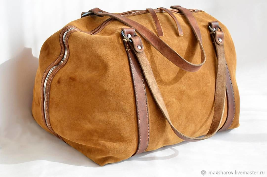 Suede Bag MAX. Art London - M.Travel, Large, Backpacks, Moscow,  Фото №1