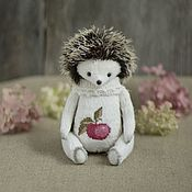 Куклы и игрушки handmade. Livemaster - original item Apple hedgehog (20 cm). Handmade.