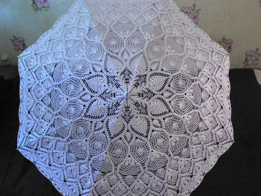 Зонты ручной работы. Ярмарка Мастеров - ручная работа. Купить Зонт ажурный. Handmade. Белый, фотосессия