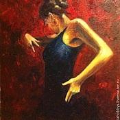 Картины и панно ручной работы. Ярмарка Мастеров - ручная работа Картина Фламенко. Handmade.