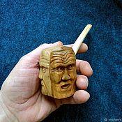 Сувениры и подарки handmade. Livemaster - original item Smoking pipe Twins or