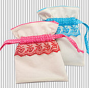 Для дома и интерьера handmade. Livemaster - original item A set of bags from calico. Handmade.
