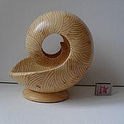 Скульптуры ручной работы. Ярмарка Мастеров - ручная работа Декоративная скульптура из дерева Наутилус - 9 БМ. Handmade.
