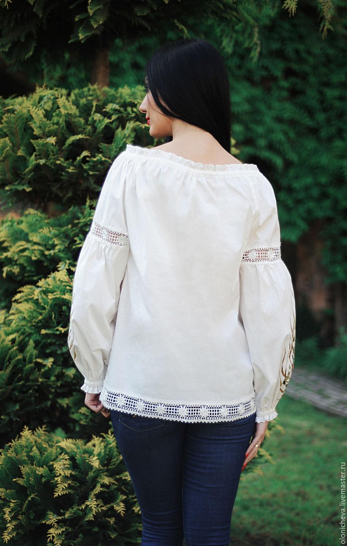 Светлая блузка купить