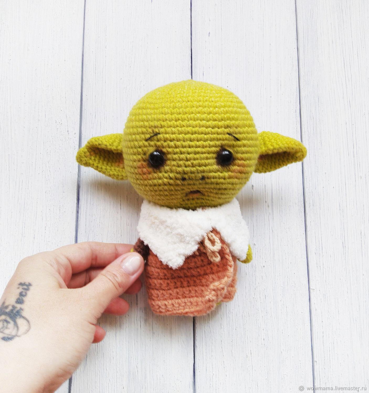 Alien child star wars toy Baby Yoda for home Decor, Stuffed Toys, Zelenograd,  Фото №1