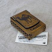 Сувениры и подарки handmade. Livemaster - original item Cigarette case or case for a pack of cigarettes. Personalized gift. Handmade.