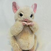 Куклы и игрушки ручной работы. Ярмарка Мастеров - ручная работа Шиншилла Шайни. Handmade.
