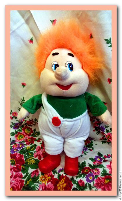 Винтажные куклы и игрушки. Ярмарка Мастеров - ручная работа. Купить Карлсон  игрушка  винтаж говорящий и поющий. Handmade. Комбинированный, карлсон