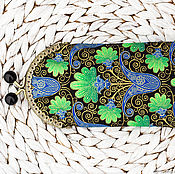 Очечник ручной работы. Ярмарка Мастеров - ручная работа Очечник Футляр для очков Индия. Handmade.