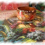 Украшения ручной работы. Ярмарка Мастеров - ручная работа Браслет роспись по дереву Осенние листья. Handmade.