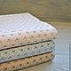 Шитье ручной работы. Ярмарка Мастеров - ручная работа. Купить Хлопок Япония отрез 45х50 см, 3 цвета. Handmade.