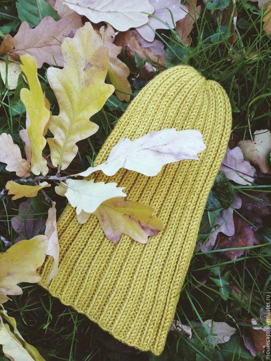 Шапки и шарфы ручной работы. Ярмарка Мастеров - ручная работа. Купить Шапка-чулок детская. Handmade. Бежевый